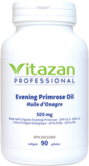 Certified Organic Evening Primrose Oil 500 mg