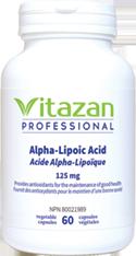 Alpha-Lipoic Acid 125mg