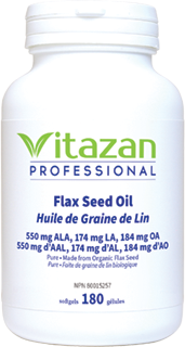 Certified Organic Pure Flax Seed Oil 1000mg