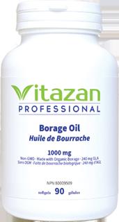 Borage Oil Organic 1200mg