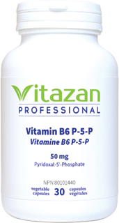 Vitamine B6 P-5-P 50mg